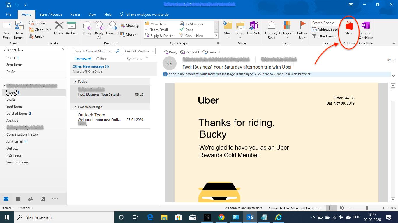 Installing Fyle Add-in on Outlook Desktop
